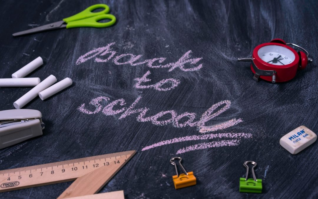 August Blog: Going Back to School After a Long Hot Summer